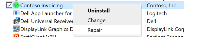 contosoinvoiceapp_repair.png