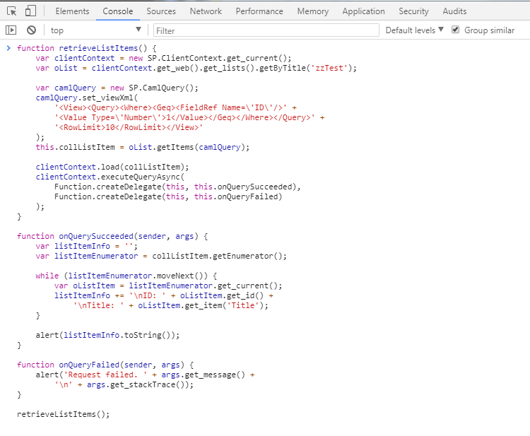 sharepoint_get-list-items_chrome-console.png