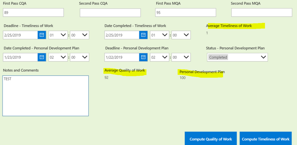 powerapps form