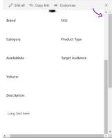PowerApp double scroll bar inside SharePoint list form