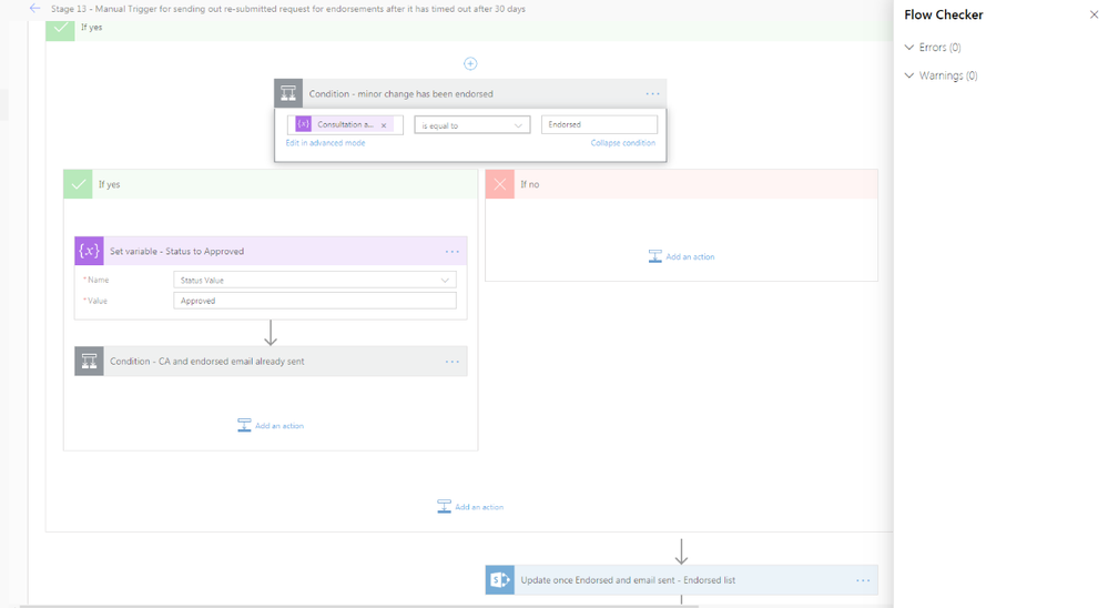 Flow checkker shows no errors.png