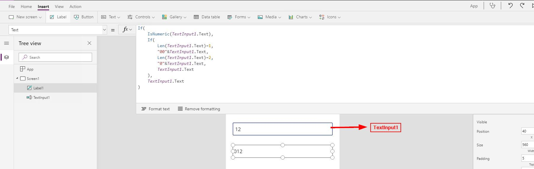 Solved Add leading zeros to digits using Text   Power Platform ...