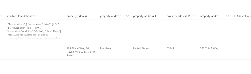 the sharepoint list fields I want to be able to access