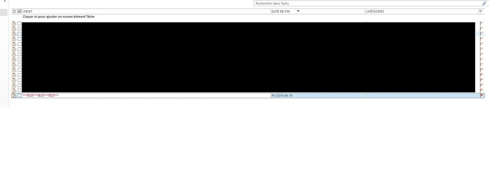 Outlook Task Created