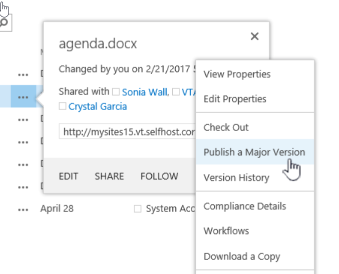 2019-04-24 08_17_57-sharepoint publish major version - Google Search.png