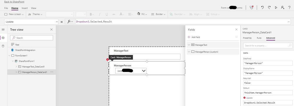 Test form DataCard (test 3)