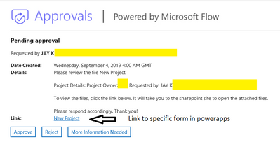 Approval Workflow Email
