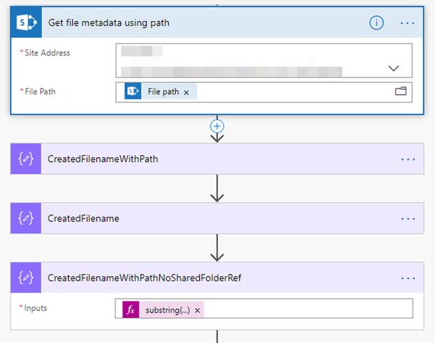 Grab file metadata using path