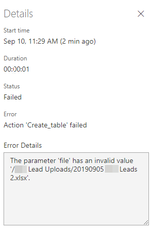 Test fails despite using correct folder/file reference