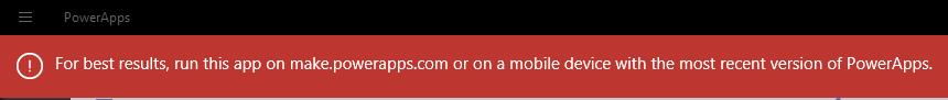 PowerApps Windows Desktop error.png