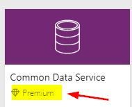 Premium connector in PowerApps