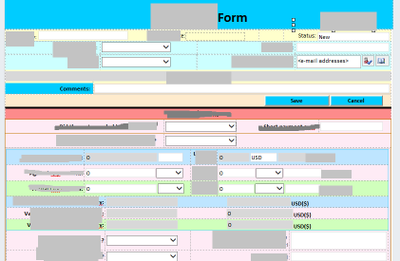 InfoPath form