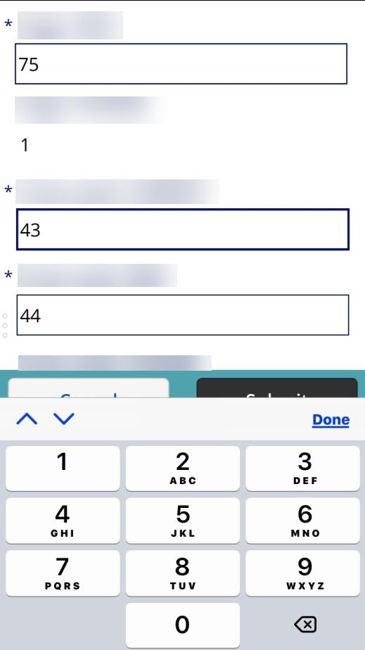 Ios Numeric Keyboard