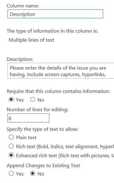 Sharepoint text Colum.PNG