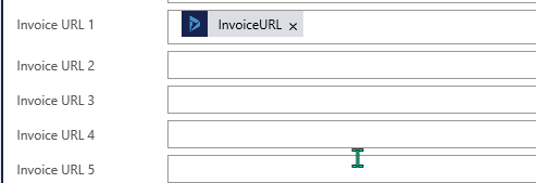 Invoice URL fields on Contact Form