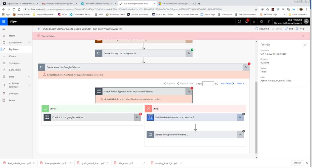 Flow Error screenshot #1