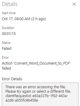 Error Msg