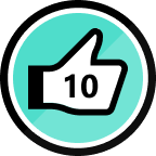 10th Kudos Given Badge