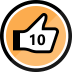 10th Kudo Received Badge