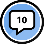 10th Reply Badge
