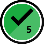 5th Solution Badge