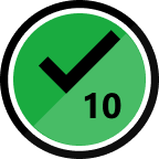 10th Solution Badge