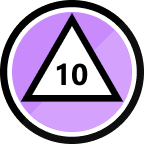 10th Topic Badge