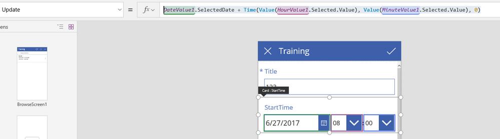 Solved: Date Time Picker -- Missing Time - Power Platform