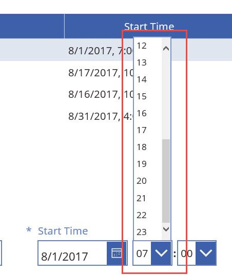 Solved Change Calendar Entry From 24 Hour To 12 Hour Opti