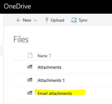 how to download attachments from onedrive in gmail