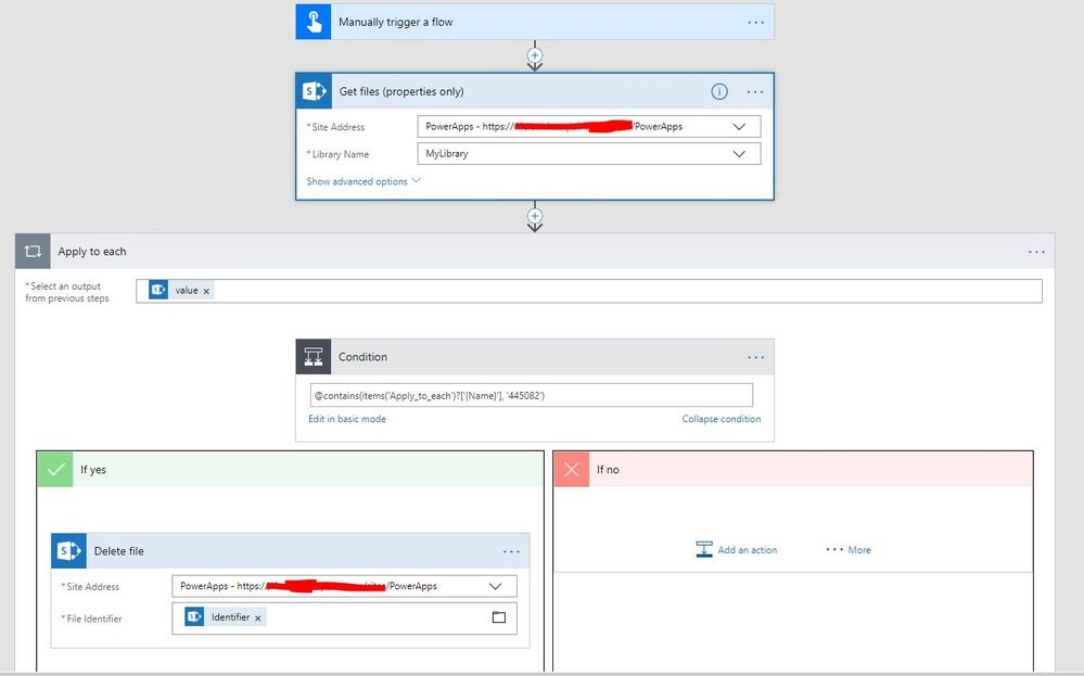 how to delete files on sharepoint