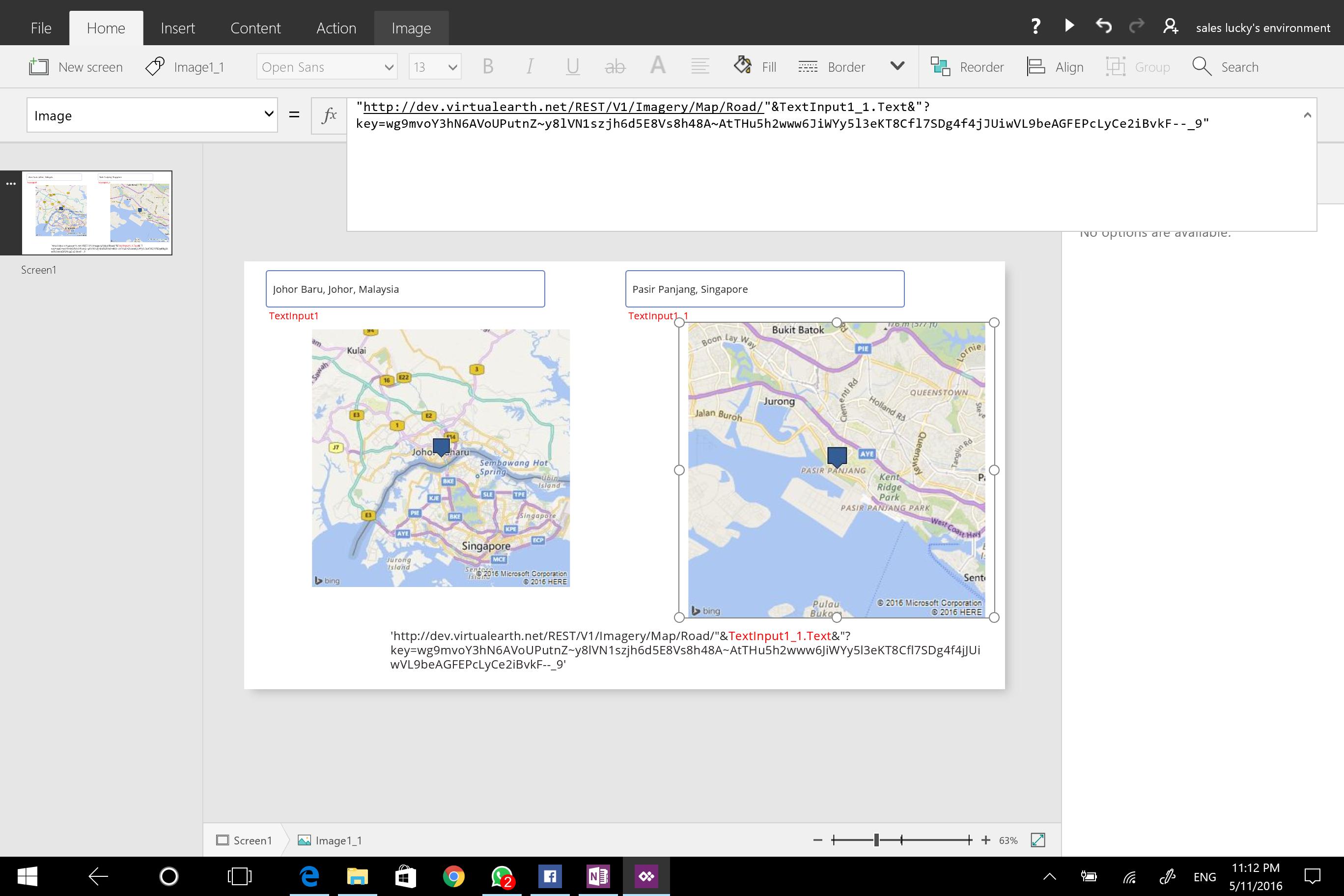 Google Or Bing Map Base On Address Power Platform Community