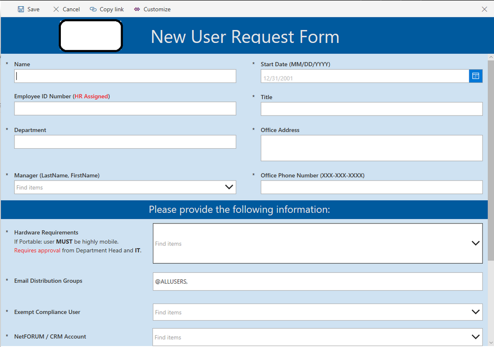 possible to print out entire powerapps form power platform community