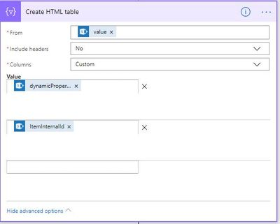 Create HTML from list.JPG