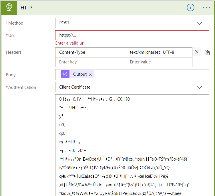 How To Use Client Certificate Auth In Http Action Power
