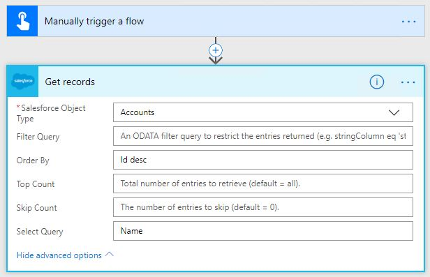 Solved: Salesforce advanced settings and bad SOQL query