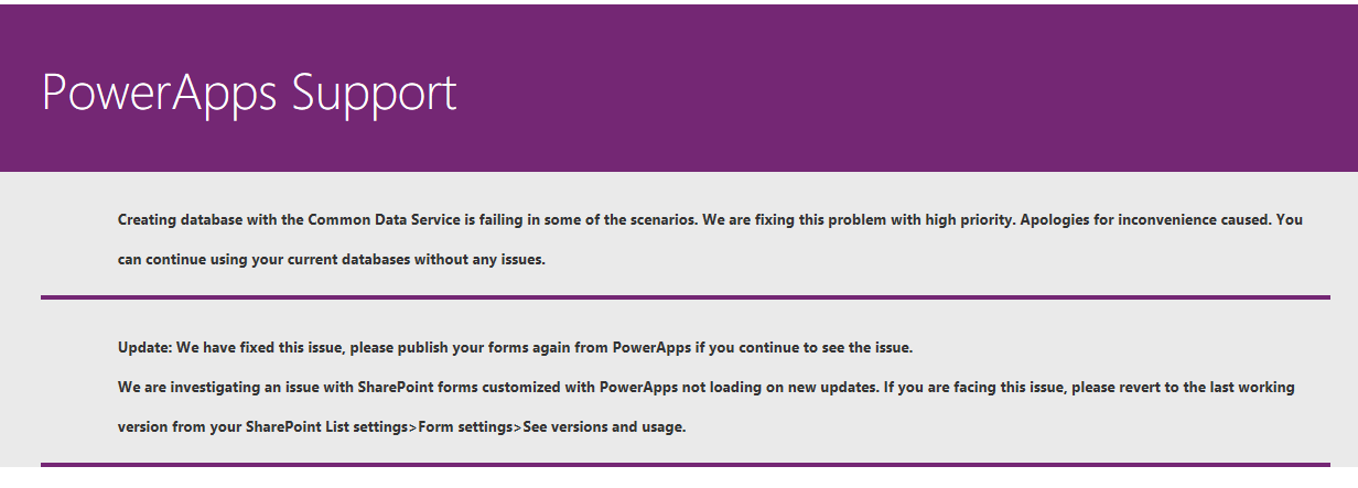 Solved: PowerApps customize form not loading - Power