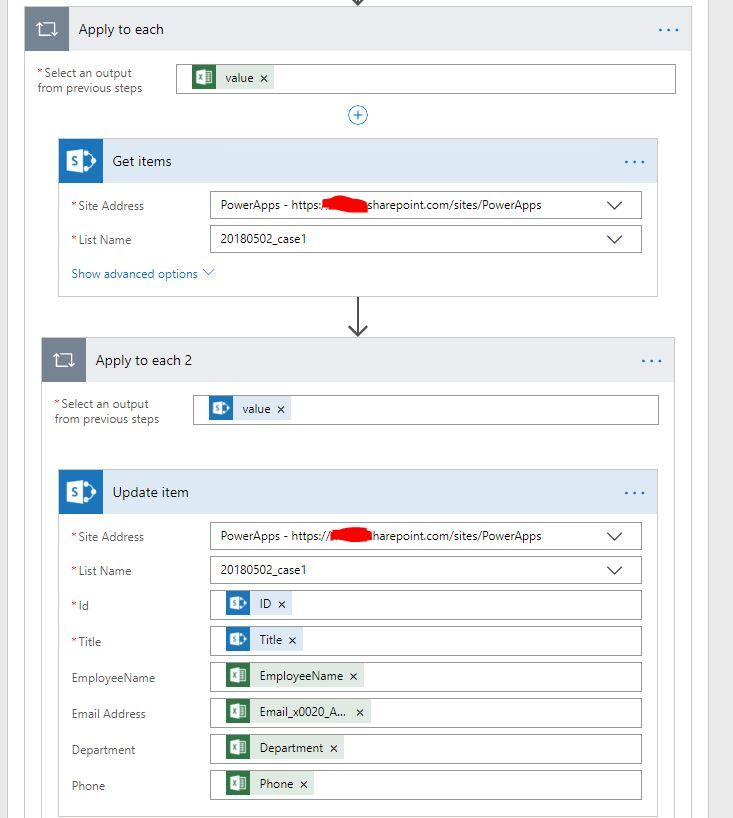 Solved: Update Sharepoint List From Excel File - Power
