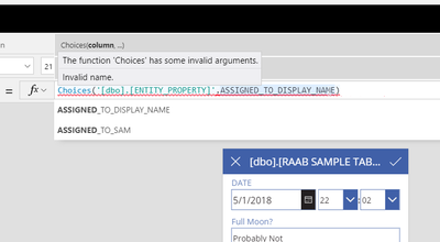 2018-05-03 12_08_49-Database Test Example 2 - Saved (Unpublished) - PowerApps.png