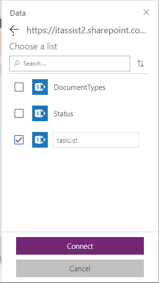 Solved: Can't connect to SharePoint Task List - Power
