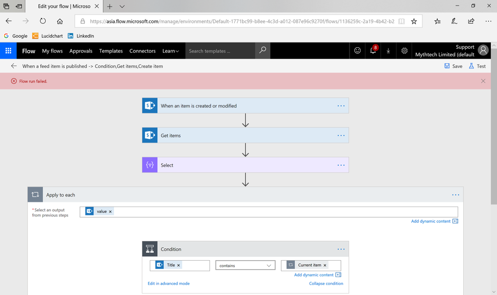 Solved: SharePoint List Get Items for Condition - Power Platform