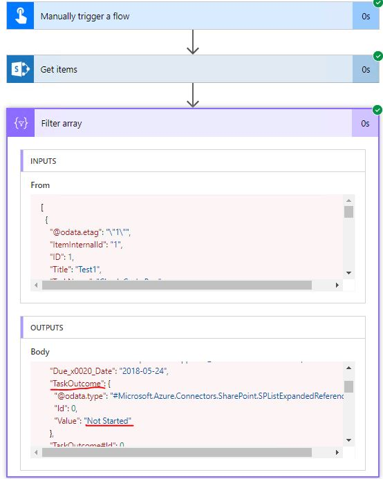 Solved: SharePoint Get items filter query choice - Power