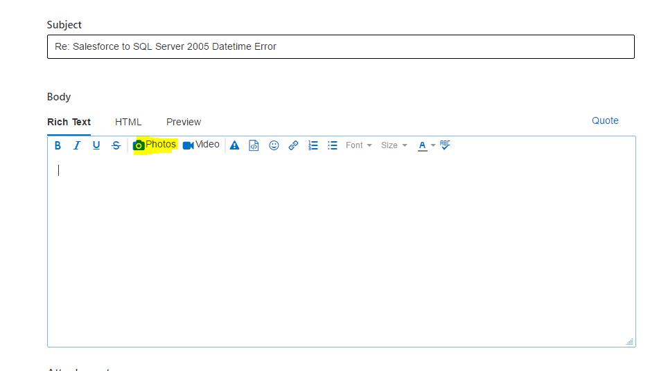 Salesforce to SQL Server 2005 Datetime Error - Power