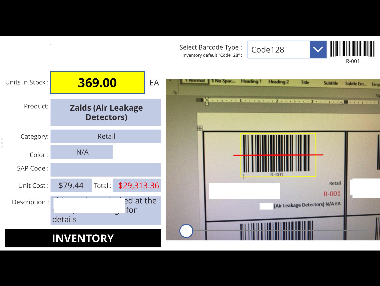 Solved Barcode Scan App Power Platform Community Circuit Board Labels Barcoding Blog