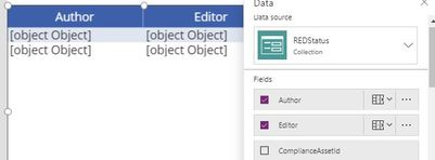 Solved: DataTable is showing [object Object] in column for