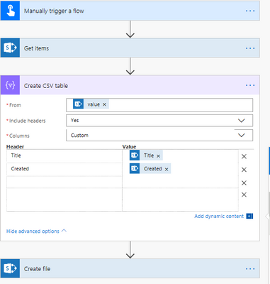 Solved: Exporting SharePoint List as CSV (template) - Power
