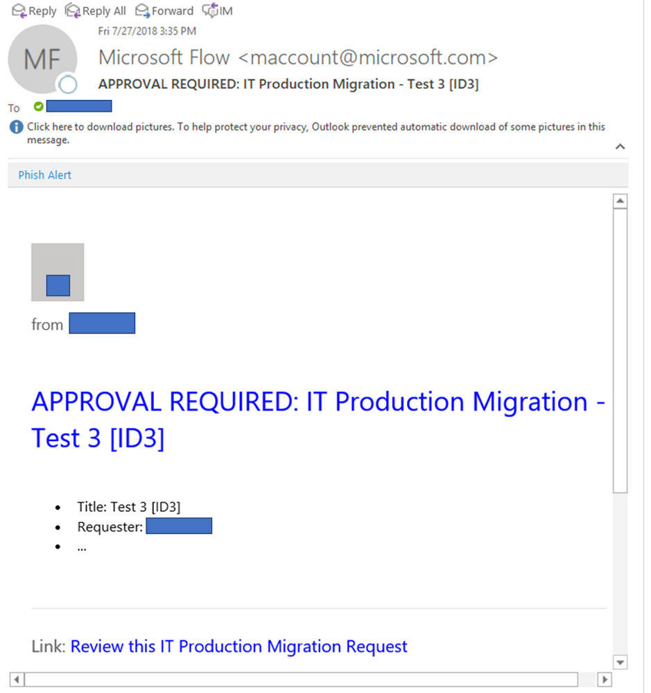 Solved: Approval Email Formatting in Outlook client - Power Platform