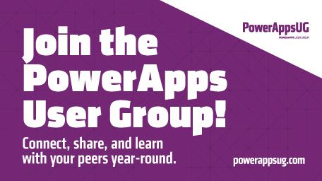 PowerApps UserGroup