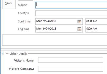 Get Form Region fields from Outlook item? - Power Platform Community