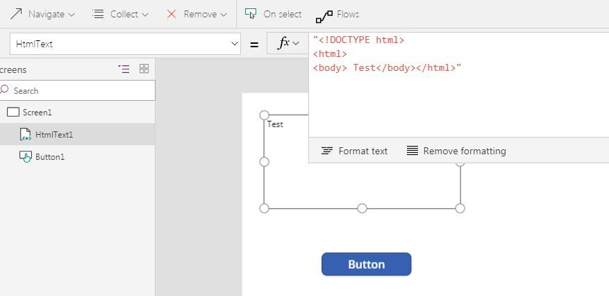 Solved: HTML Text to Flow - Convert html file to PDF - Power